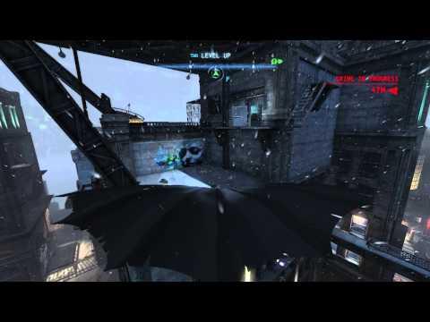 Batman tests his experimental gliding technology