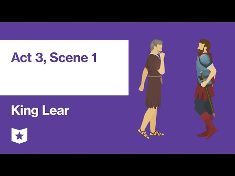 King Lear By William Shakespeare | Act 3, Scene 1
