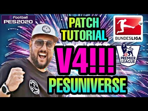 Pes 2020 | Patch Tutorial | PesUniverse Optionfile V4 Inkl. Bundesliga / Ps4