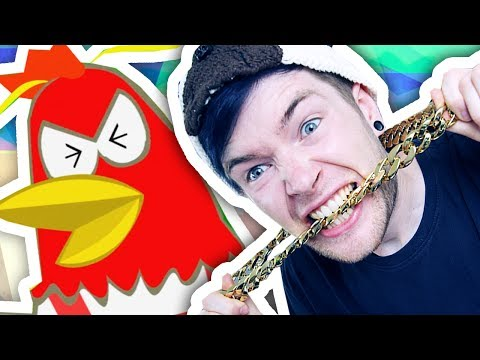 Thumbnail: RAPPING WITH AN ANGRY CHICKEN!!!