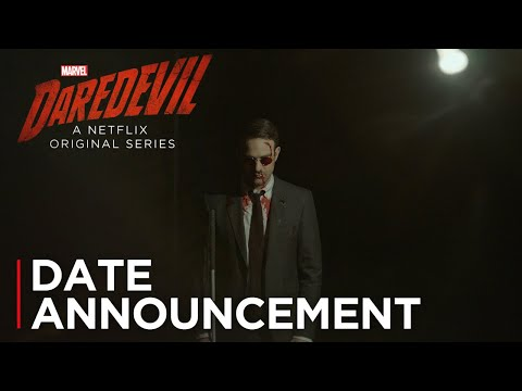 Marvel's Daredevil: Season 3 | Date Announcement [HD] | Netflix