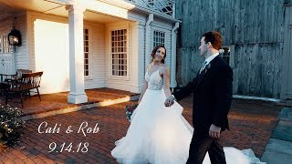 Massachusetts Barn Wedding // Cali & Rob
