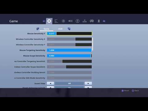 How To Get Old Settings Back With New Update| Fortnite Sensitivity Fix
