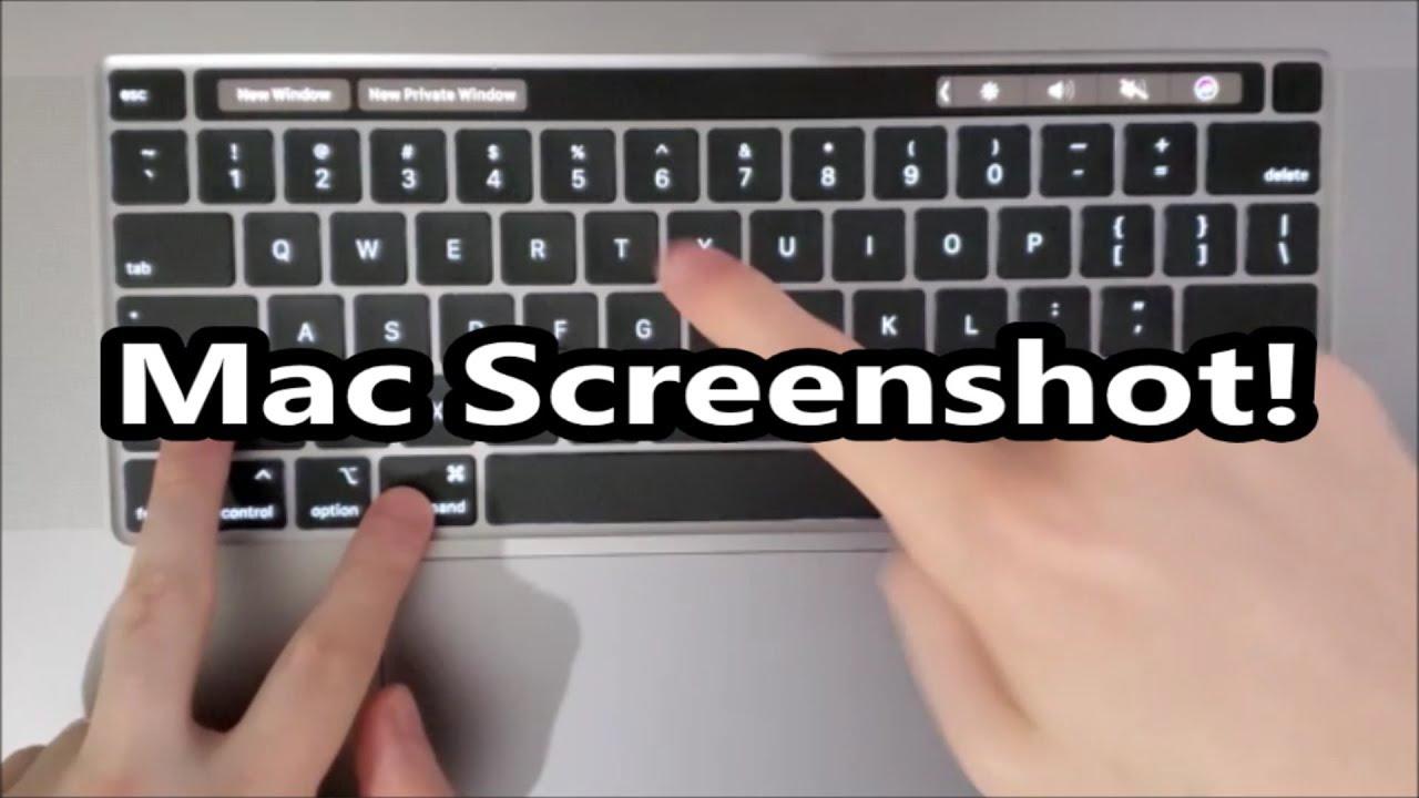 MacBook Pro 8 How to Screenshot! (ANY Mac)