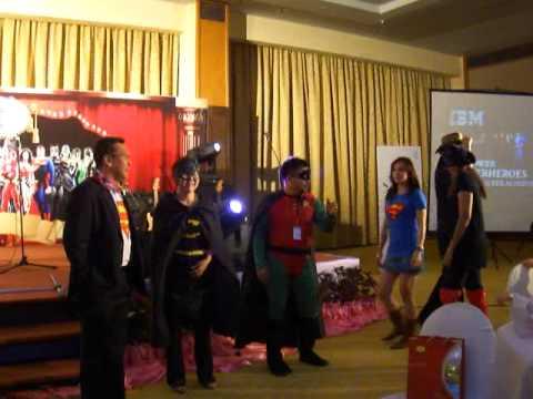 Rama & The Superheroes @ IBM 2012 Sales Rally