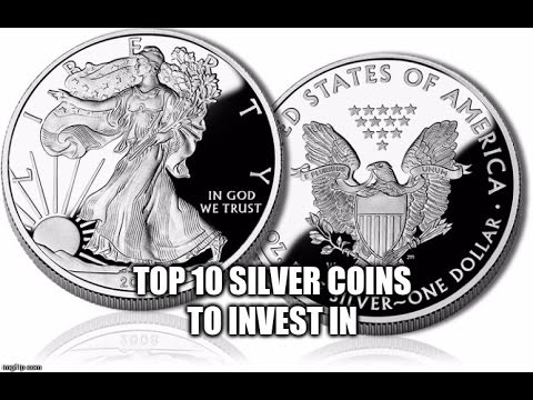 Top 10 Best Silver Coins To Invest In - Silver Stacking For Retirement -