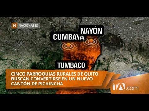 Cinco parroquias rurales de Quito buscan convertirse en un nuevo cantón