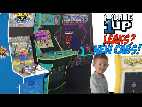 Arcade1UP Leaks? New Cabinets? What Do You Think? Tron, Simpsons, Street Fighter II Big Blue? from moxxi