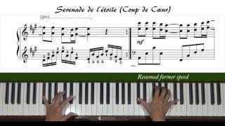 Скачать Serenade De L Etoile Coup De Coeur 星星小夜曲 Piano Tutorial