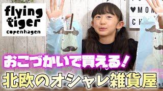 【北欧雑貨】小学生女子がフライングタイガーで買った物!【ももかチャンネル】