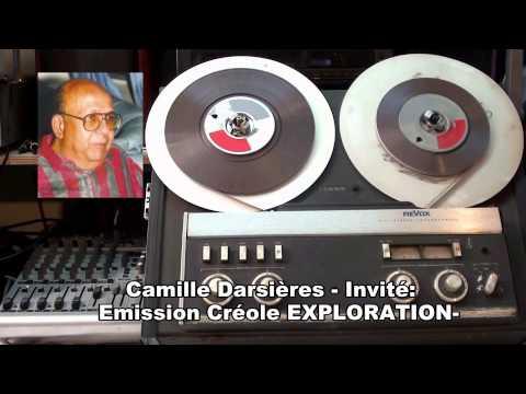Camille Darsières  - Invité Emission Créole EXPLORATION-  RCI MARTINIQUE –Année :1996  -VOL:  01