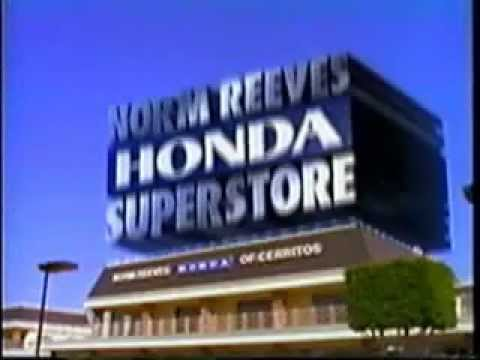 Norm Reeves Honda  YouTube