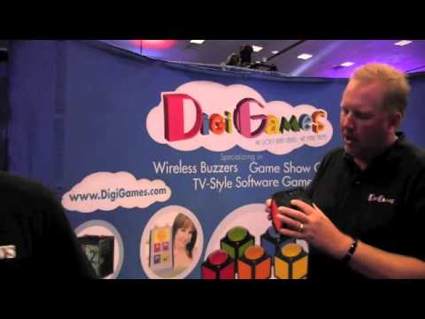 DigiGames Trivia Cube With Rob Johnson By John Young of the Disc Jockey News