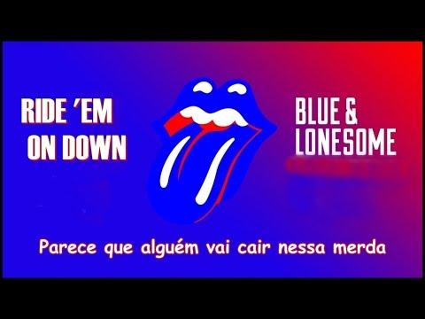 Ride 'em On Down - The Rolling Stones (Lyric Video) (Legendado PT-BR)