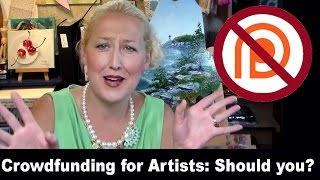 Art Marketing Vlog: Why I Don't Use Patreon