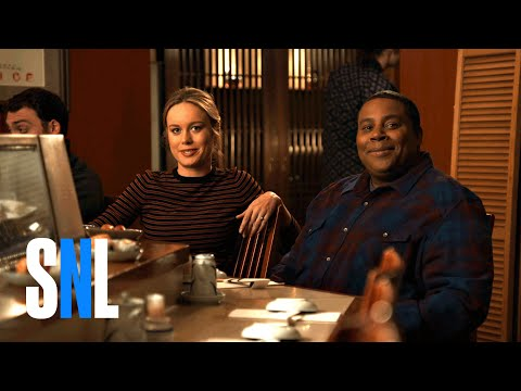 Award Winners Brie Larson & Kenan Thompson Get Some Sushi