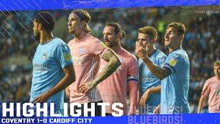 Ковентри Сити  1-0  Кардифф Сити видео