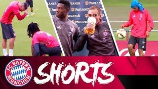 Ribéry & Sanches Dab, Lahm vs. Beer and more | FC Bayern Shorts Vol. 19