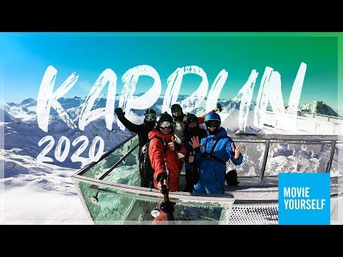 Kaprun, Kitzsteinhorin 2020!  Zell Am See, Alpy, Austria