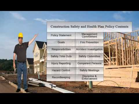 Construction Safety and Health Program - YouTube