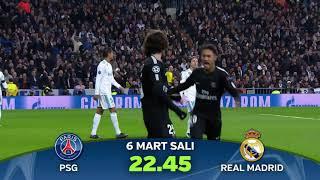 Şampiyonlar Ligi PSG-Real Madrid rövanş maçı tanıtımı.