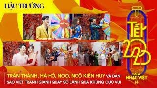 Trấn Thành, Hà Hồ, Noo, Ngô Kiến Huy và dàn sao Việt tranh giành quay số lãnh quà khủng cực vui