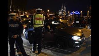 Illegale Straßenrennen - Kölner Polizei auf Raser Jagd Doku HD