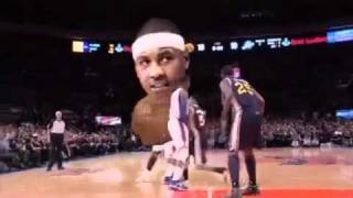 new nba tv bobblehead commercial playoff edition