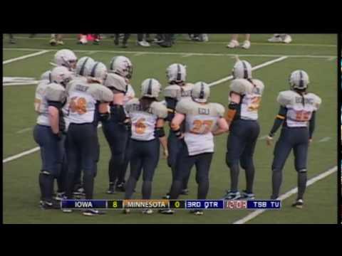 WFA Football - Iowa Thunder vs. Minnesota Machine