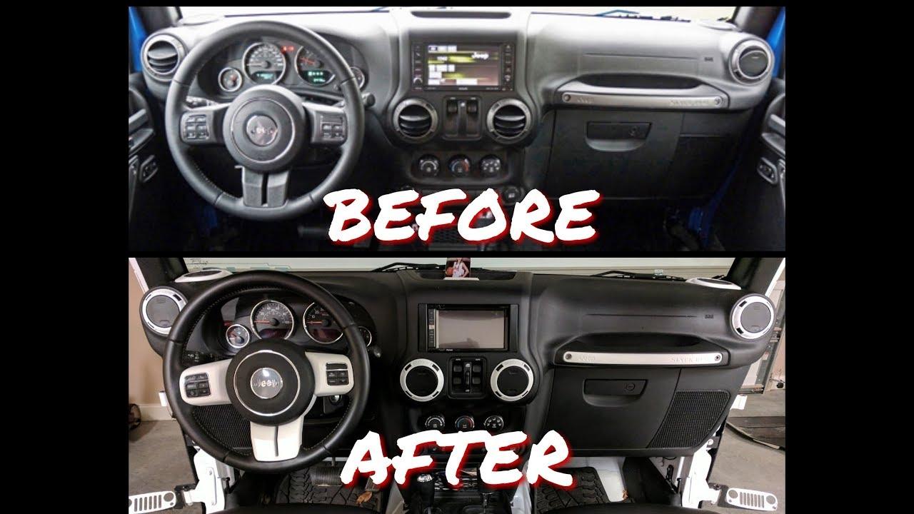 Jeep Jk Interior Trim Removal