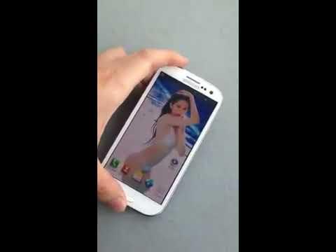 Trên tay Samsung Galaxy SIII phiên bản Ngọc Trinh (nữ hoàng đồ lót)
