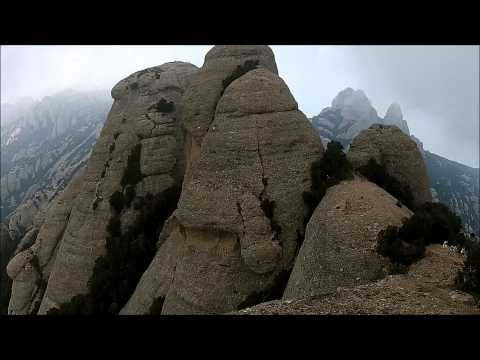 Mountains of Montserrat from Sky - A day trip by Erasmus Barcelona