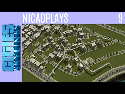 Cities: Skylines :: Business Park :: Episode 9