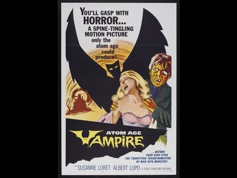 Atom Age Vampire (1960) FULL MOVIE - Stars: Alberto Lupo, Susanne Loret, Sergio Fantoni