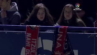 Calentamiento C.A. Osasuna vs Levante UD
