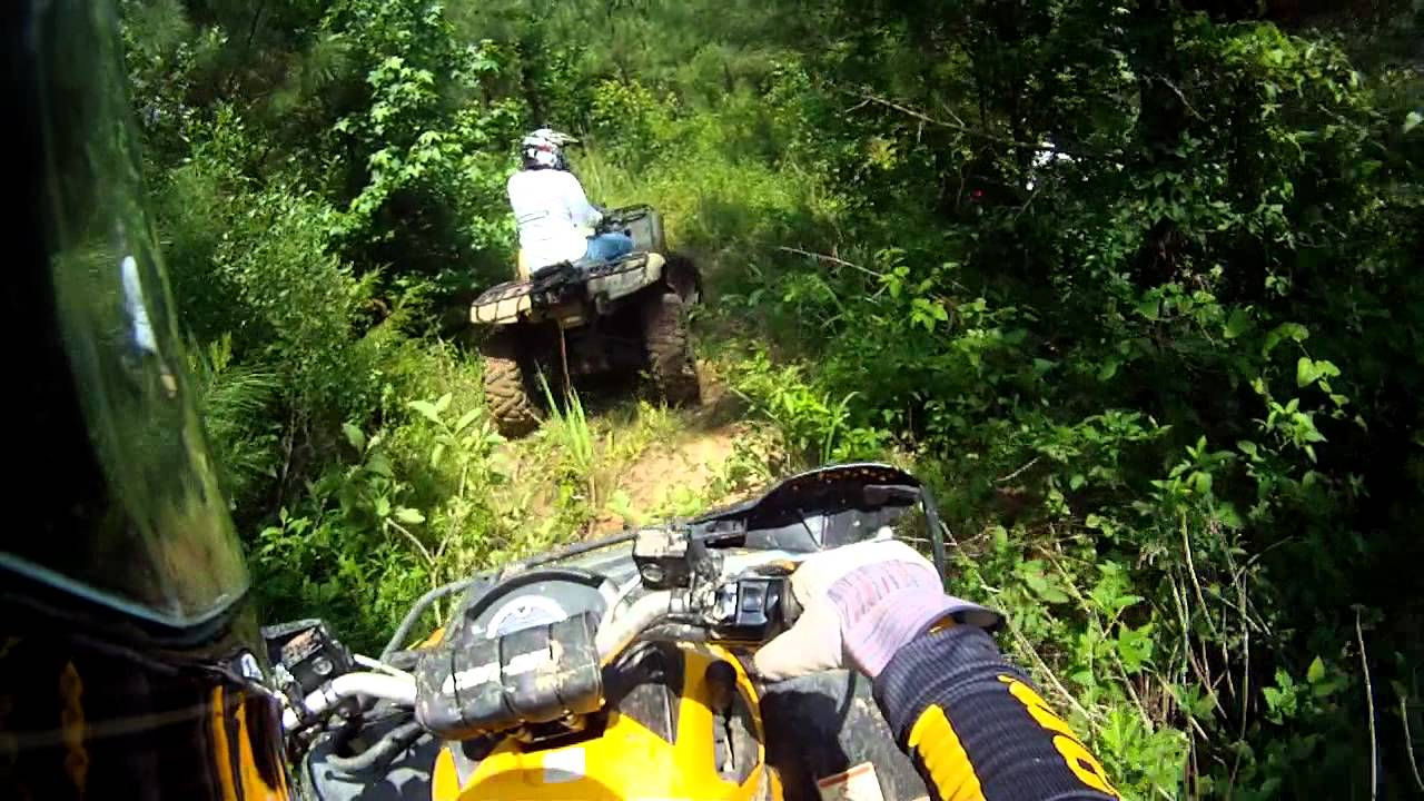 Sunday Four Wheeler Ride Blazing New Trails - Youtube-6317