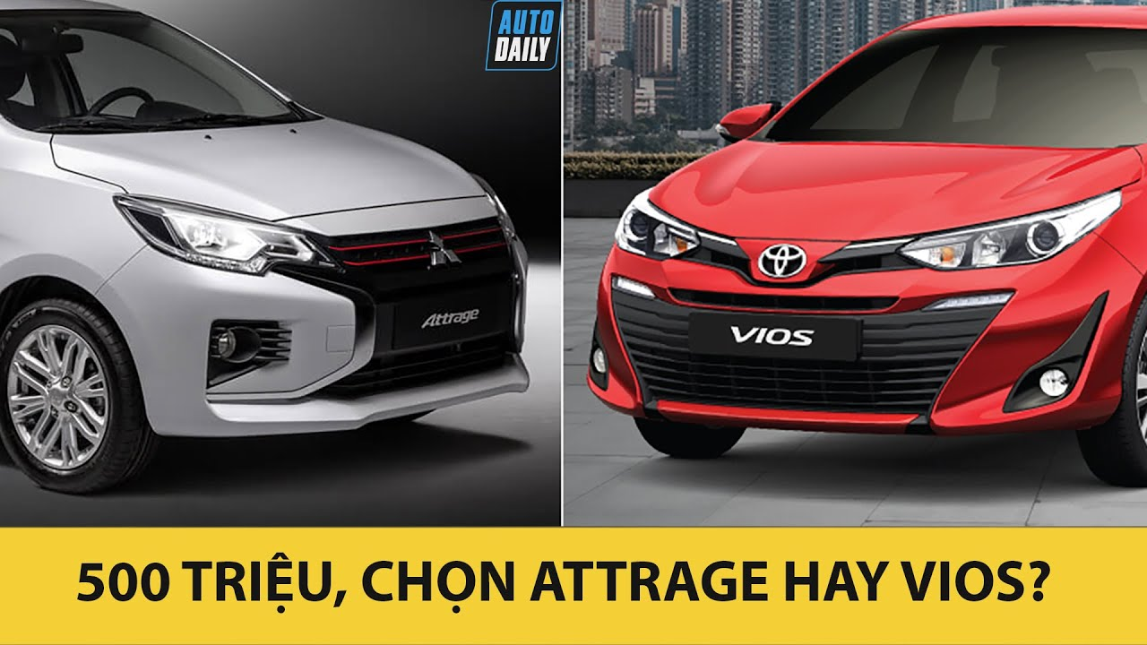 So sánh Mitsubishi Attrage 2020 và Toyota Vios 2020 – Rẻ hơn cả trăm triệu có soán được ngôi?
