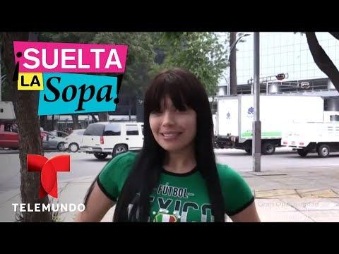 Tracy Saenz mostr� los senos en plena v�a p�blica   Suelta La Sopa   Entretenimiento