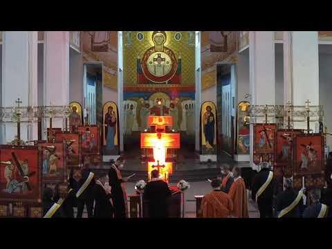 Хресна дорога в храмі Різдва Пресвятої Богородиці (Львів-Сихів)