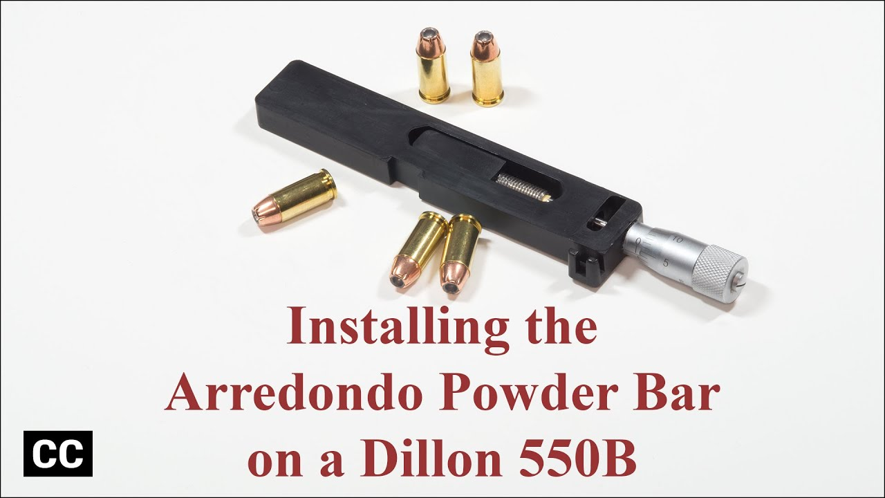 Installing the Arredondo powder bar