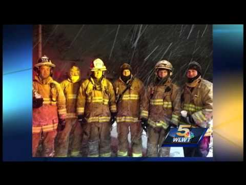 Firefighters share stories of fallen brother