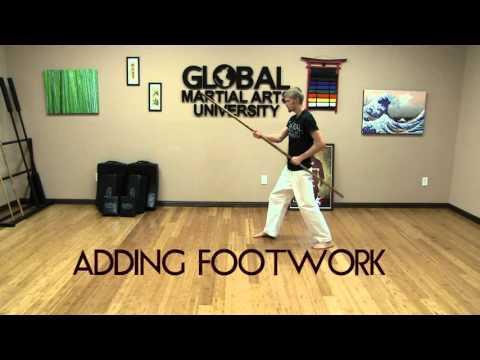 20 Minute Bo Staff Class for Everyone - Warm Up, Combat Drills, Stretching