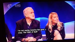 Weirdest Food In America ,Weirdest Question asked to John cleese by an American