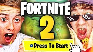 J'AI TESTÉ FORTNITE 2 !! (exclusivité mondiale) ft. Michou