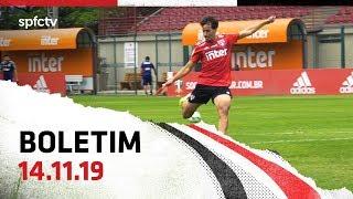 BOLETIM DE TREINO: 14.11   SPFCTV