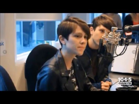 Tegan and Sara on Chum FM