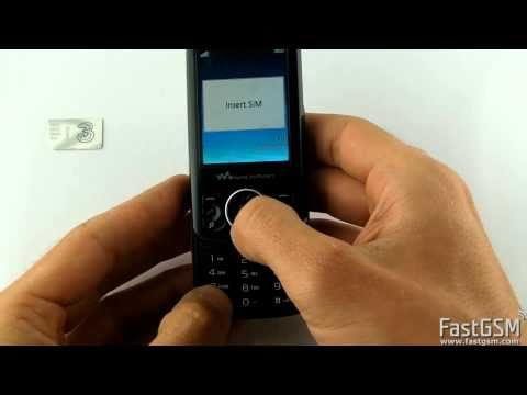 Unlock Sony Ericsson Spiro W100