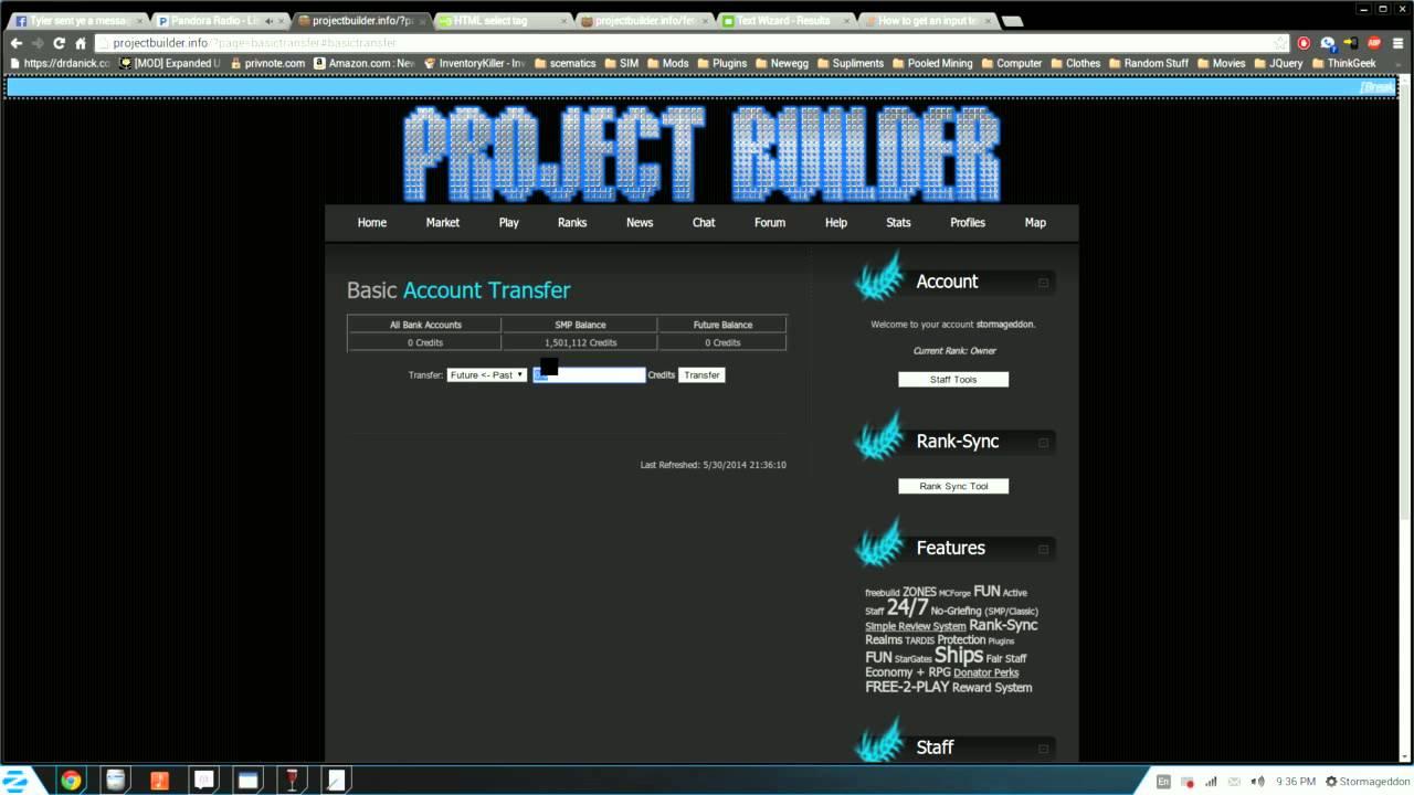 Server Money Transfer Module - YouTube