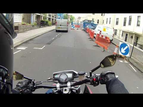 Husqvarna Nuda 900R London ride - Holland Park to St. John's Wood