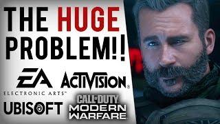 Activision LIES, Denies Modern Warfare P2W Loot Boxes Exist! EA's Dirty MTX Patent & Ubisoft's FAIL!